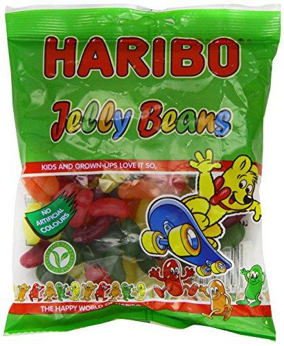 Haribo Jelly Beans 160g - Gelee-Bohnen mit verschieden fruchtigen Geschmack