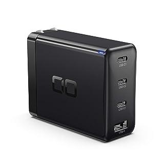 CIO LilNob USB PD 4ポート 100W 急速 充電器 GaN 窒化ガリウム Type-C/USB-C/折畳式プラグ 超コンパクト iPhone 12/iPad/Android/Switch/Macbook/Air/Pro対応 C...