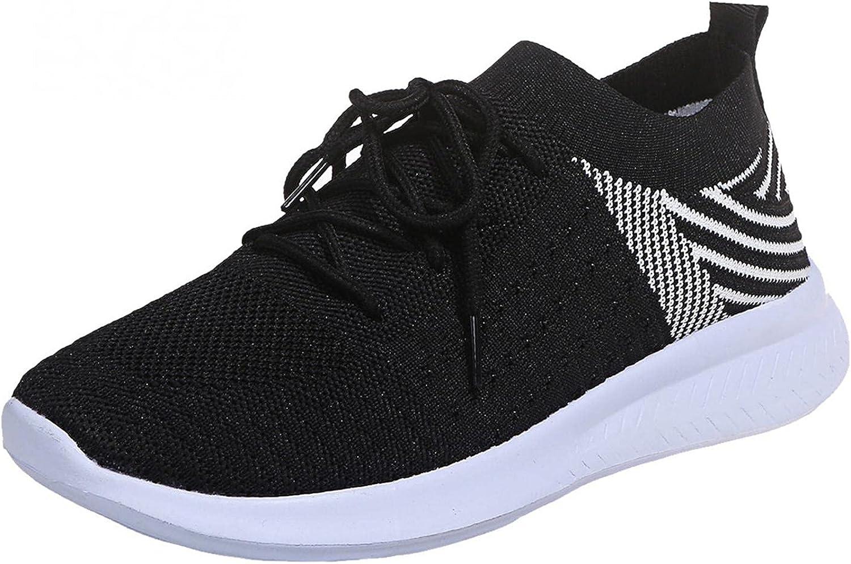 AODONG Walking Shoes for Women, Trail Running Lightweight Mesh Tennis Sneaker Fashion Athletic Walking Shoes