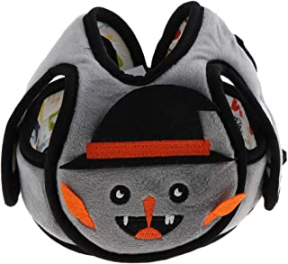 Blesiya Toddler Plush Safety Helmet Baby Child Walking Crawling Headguard Hat Head Protective Harnesses Cap - Ghost, as described
