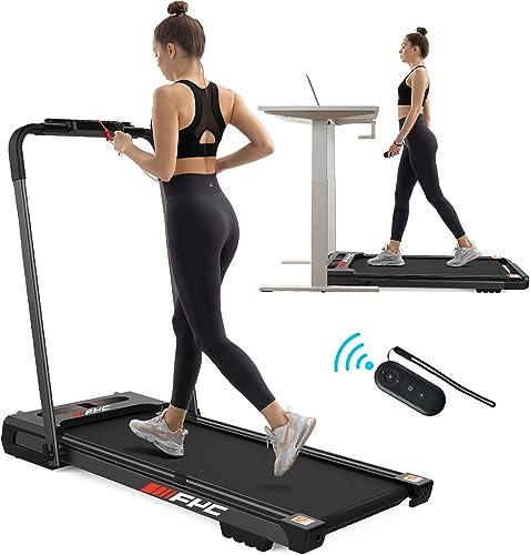 FYC 2 in 1 Under Desk Treadmill - 2.5 HP Folding Treadmill for Home, Installation-Free Foldable Treadmill Compact Ele...