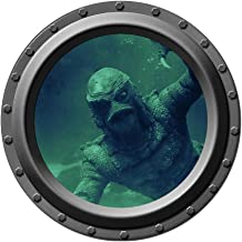 Creature from the Black Lagoon Watches You - Porthole Wall Decal