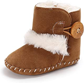 Winter Warm Baby Boots Prewalker Newborn Infant Boy Girl Crib Shoes Snow Boots