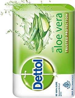 Dettol aloe vera soap trusted protection free