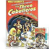 Filmrätsel Dekorative Kunstwerke drei Caballeros 38x26cm Papier Mini 1000 Stück Klassisches Kunstpuzzle zum Sammeln