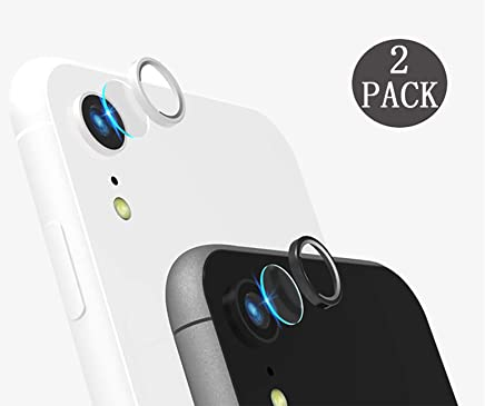 [2 Pack] Tempered-Glass Camera Protector for iPhone...