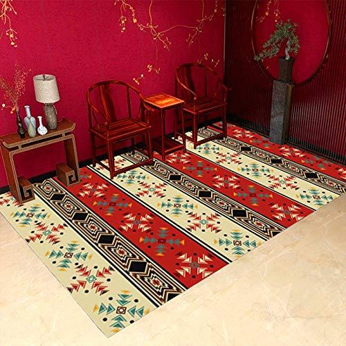 Einfache Geometrische Rechteckige Schreibtischsofa Couchtisch Teppich Im Europäischen Stil rutschfeste Verdickung Bodenmatte Schlafzimmer Hotel Wohnzimmer Gastfamilie Urlaub Teppich