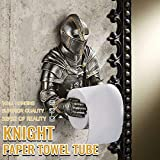 Bathroom Toilet Paper Holder Rome Knight Tissue Holder Holder Wall-Mounted Punch-Free Toilet Paper Towel Pumping A Knight to Remember Gothic Bath Tissue Holder Funny Bathroom Wall Decor (Multicolor)