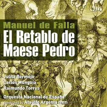 Manuel de Falla: El Retablo de Maese Pedro (1957)