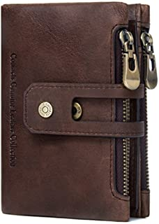 Contacts Leather Men's Wallet (COAHWALN42-RFID-Brown_Brown)
