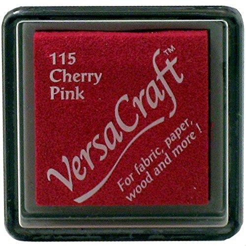 VersaCraft VKS-115Stempel Stoff, kleiner Cube 25x 25mm, Rosa (Cherry Pink)