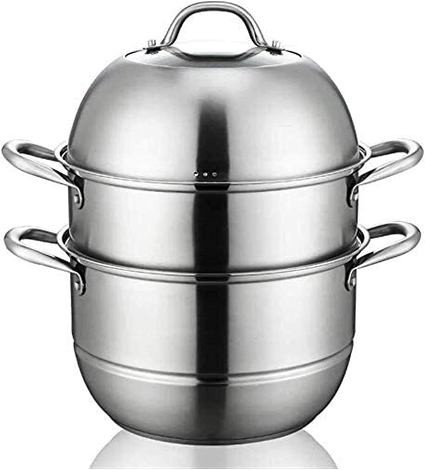 NBBB Steamer Pan Stainless Steel Set Ind Tier Cheap mail order Max 44% OFF specialty store Cooking 3 Steamers
