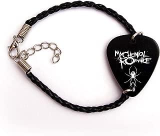 My Chemical Romance Guitar pick plectrum logo Bracelet (BW)
