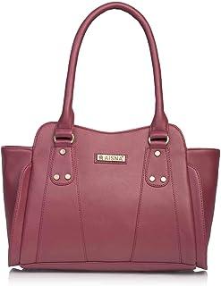 Aisna Women's Handbag (ASN-142_Maroon)