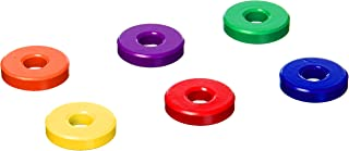 Dowling Magnets Ceramic Ring Magnets (6 Count), 1 1/8