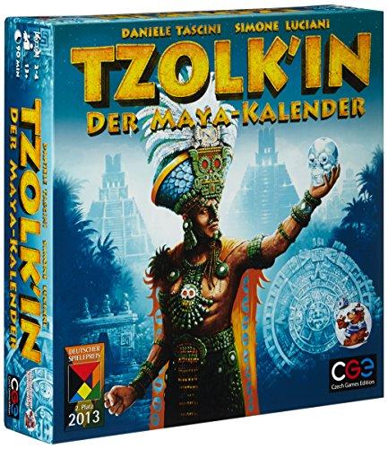 Asmodee CZ025OKT12 - Tzolk'in, Der Maya-Kalender, Strategiespiel