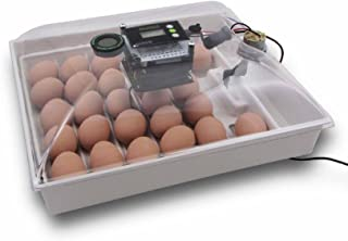 IncuView All-in-One Automatic Egg Incubator w Built-in Egg Turner, Incubator Warehouse, Easy-to-Use Controller, Countdown Hatch Timer, Auto-Off Egg Turner, Universal Egg Turner, Quail - Goose, 1140
