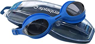 c49ec59ac0aa Splaqua Clear Prescription Swimming Goggles (Blue