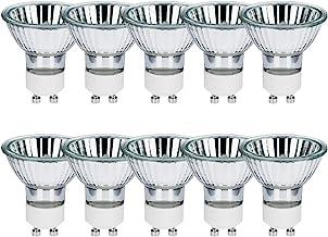 10 x halogeenreflector halogeenlamp GU10 230V warm wit dimbaar 35° flood