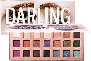 Allbestaye 21 colores Darling Paleta de sombras de ojos Brillo mate Brillo impermeable Brillo de ojos de larga duración Smokey Eyes