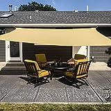 MR. COVER Sun Shade Sail Rectangle, 8' x 10' Sun Blocking Canopy Sail for Patios, Lawn, Porch, Deck,...
