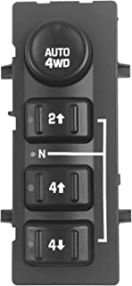 15136040 15164519 Beneges 4WD 4x4 Wheel Drive Transfer Case Switch Compatible with 2003-2007 Chevrolet Tahoe//Suburban//Avalanche//Silverado//GMC Sierra Yukon Without Auto 19259312