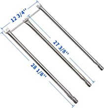 X Home 7508 Stainless Steel Burner Tube Set for Weber Spirit 300 310 E310 E320 Grills with Side-Control Knobs, Also for Genesis Silver B/C, Genesis Gold B/C, Spirit 700 Burner Replacement Parts