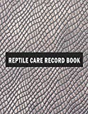 Reptile Care Record Book: With B...