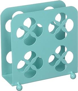 Home Basics Trinity Collection Pantryware Organization Set, Turquoise Napkin Holder