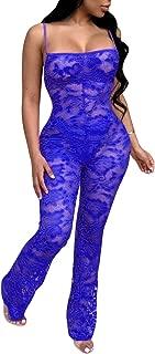 Best sheer lace jumpsuit Reviews