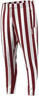 Indiana Hoosiers Adult Candy Stripe Pants - Crimson