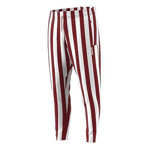 quality design 4e622 a4fb0 Indiana Hoosiers Adult Candy Stripe Pants - Crimson