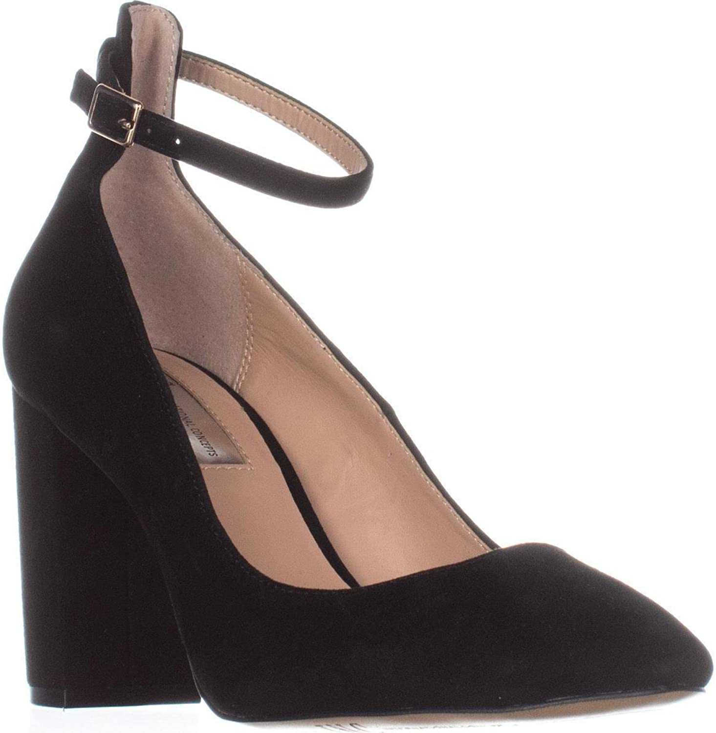 INC International Concepts Womens Gallanf Suede Closed Toe Slingback Classic