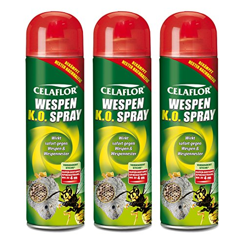 3 x Celaflor Wespen K.O. Spray 500 ml