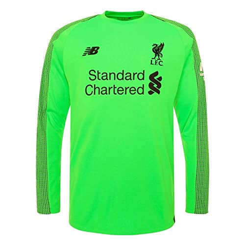 b65ce0837 New Balance 2018-2019 Liverpool Away Long Sleeve Goalkeeper Football Soccer  T-Shirt (