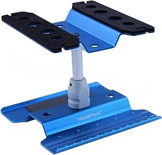 ARUNDEL SERVICES EU Azul Estación de reparación de Metales Puesto de Trabajo Plataforma de Montaje para 1/10 1/8 RC Car Traxxas TRX-4 Axial SCX10 Tractor 90046 D90 RC Tamiya HSP Modelos RC