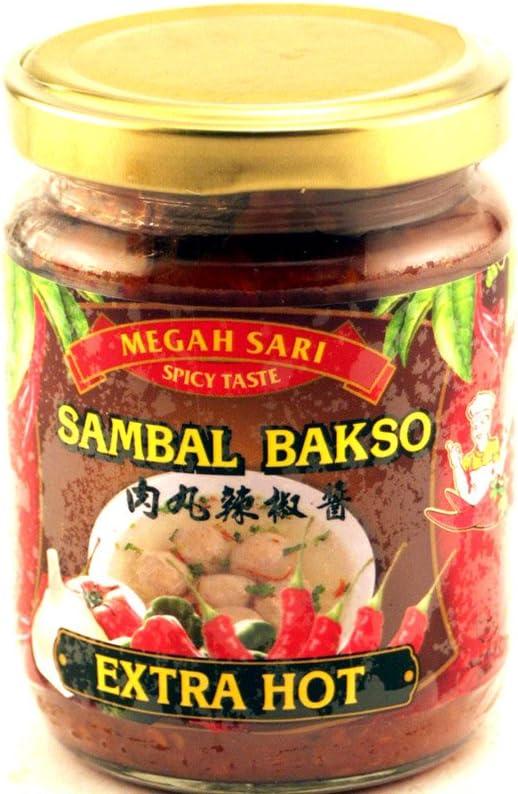 Sambal Bakso Max 63% OFF Seattle Mall Pedas Meatball Chili Sauce - Extra 250ml Pac Hot