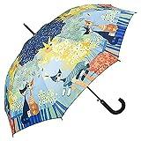 VON LILIENFELD® Ombrello Pioggia Rosina Wachtmeister: Dolce Vita Lungo Classico Automatic...