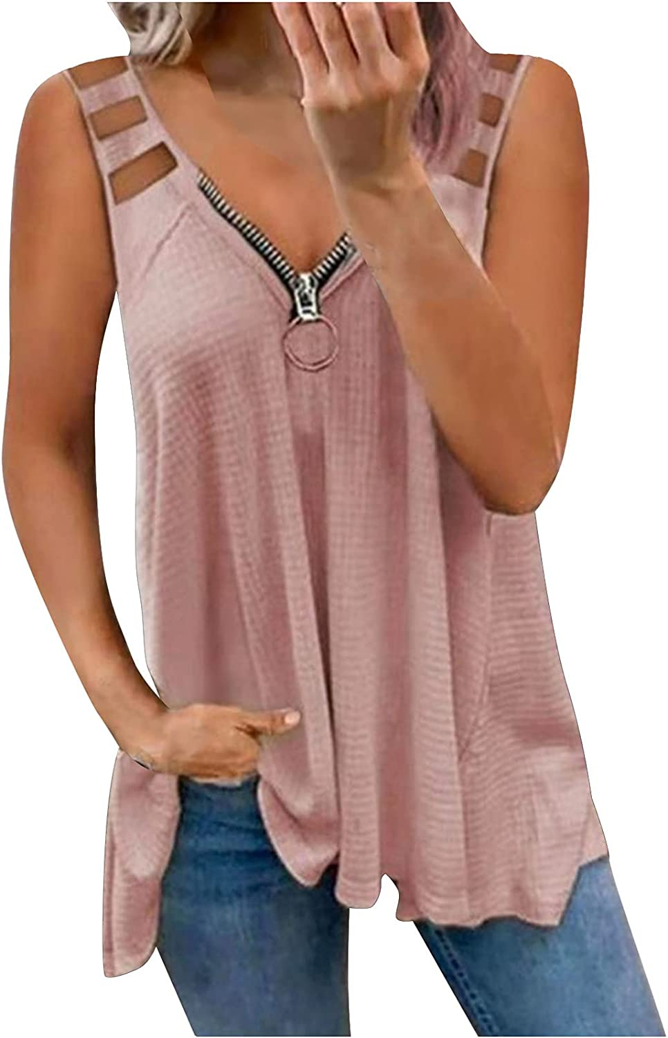 Womens Soldering Tops Dressy Mail order cheap Summer Tank Lace Hollo Women Casual Top