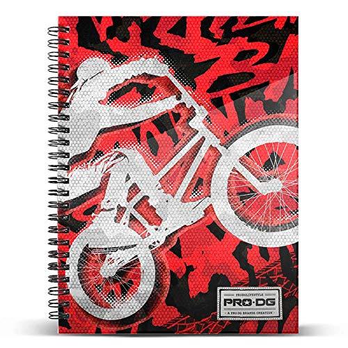 PRODG DIN A4 Notebook Backflip Draagbare Handtas Hanger, 30 cm, Multi kleuren