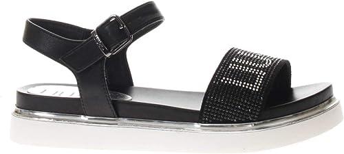 LIU JO damen LIU JO Sandalo SPORTIVBasso Sandalo Fascia damen Mod. LIU20282 schwarz Mod. LIU20282