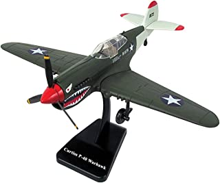 New Ray, WW II, 1:48 scale, Curtiss P-40 Warhawk, plastic model