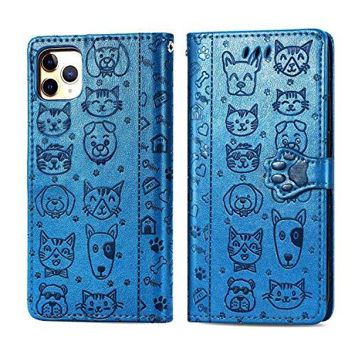 Kompatibel mit iPhone 11 Pro 16,5 cm (6,5 Zoll) Brieftaschen-Schutzhülle, geprägtes...