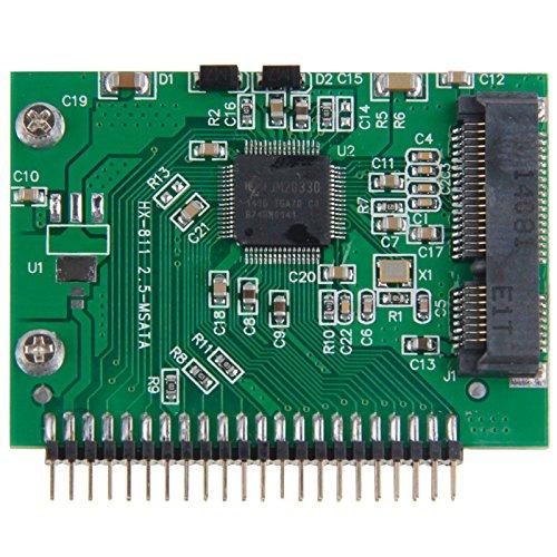 fire bird Transmisión de Datos a Alta Velocidad mSATA Mini PCI-E SSD Hembra a 3,3 V 2,5 Pulgadas 44 Pin IDE Masculino Tarjeta de conversión