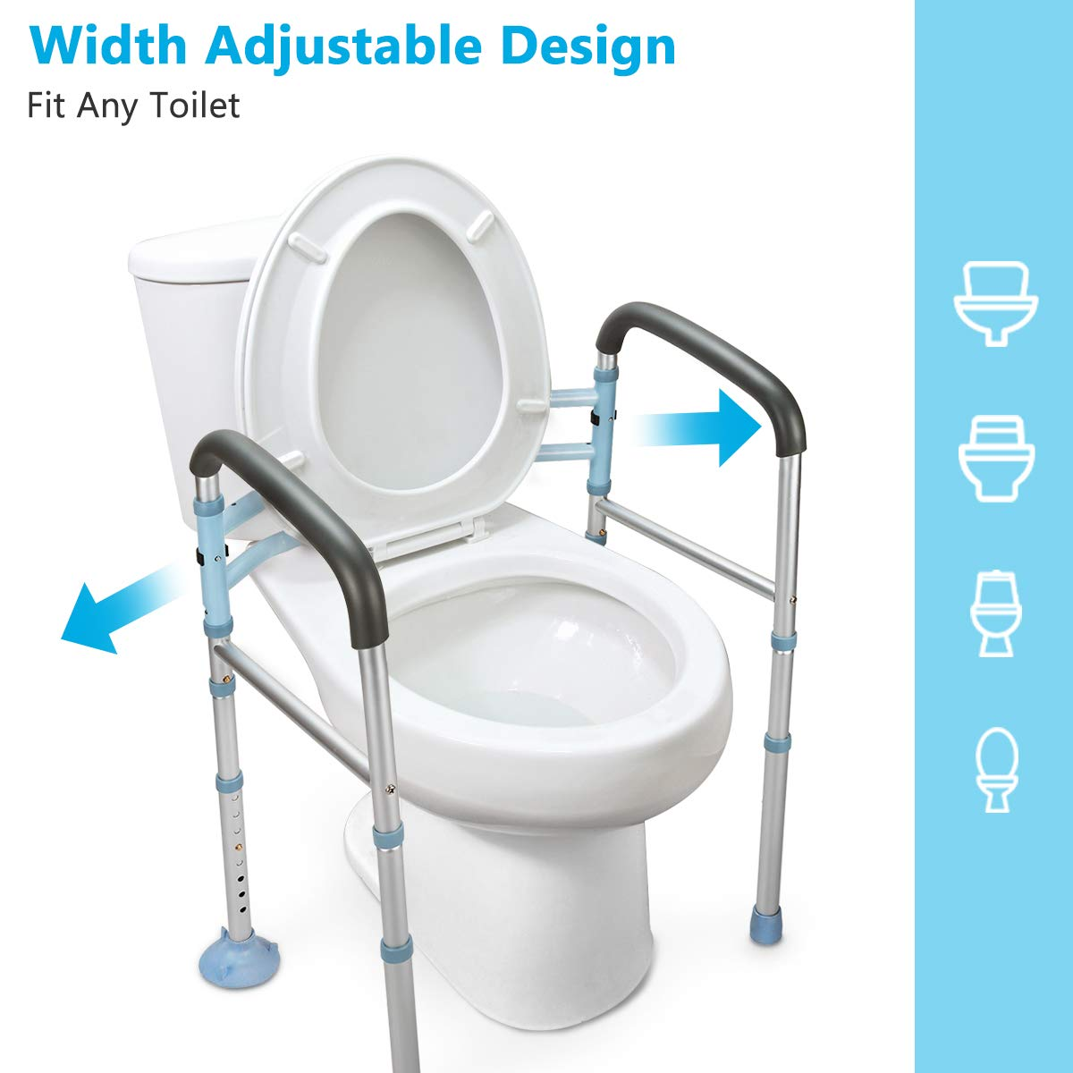 OasisSpace Stand Alone Toilet Safety