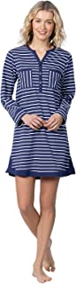 Addison Meadow Sleep Shirts for Women - Cotton Nightgown Soft