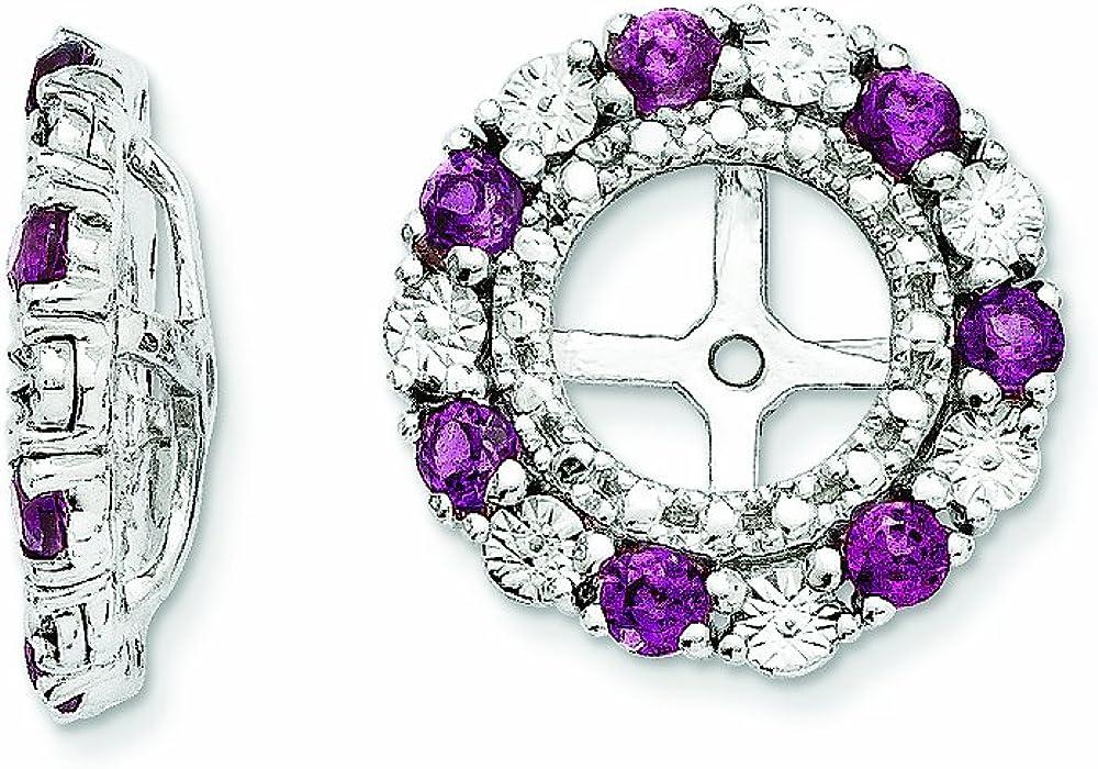 Finejewelers Sterling Special Campaign Silver Rhodolite Garnet Jackets Earring Washington Mall