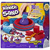 Kinetic Sand Sandisfying Set con 907 g di sabbia e 10 accessori, sabbia modellabile, dai 3 anni