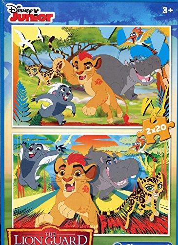 Puzzle Clementoni - The Lion Guard, 2x20 piese (60725)