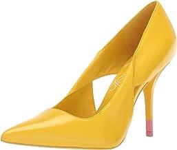 womens shoes yellow heels